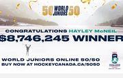 Канадка выиграла 8,7 млн долларов в лотерее к чемпионату мира U-20