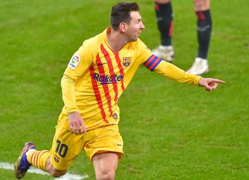 Дубль Месси. Барселона переиграла Атлетик и вошла в топ-3 Ла Лиги