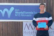ФОТО. Ваншельбойм выиграл второй турнир ITF в карьере