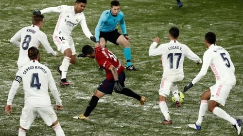 Реал не сумел забить «на льду Осасуны» и потерял очки