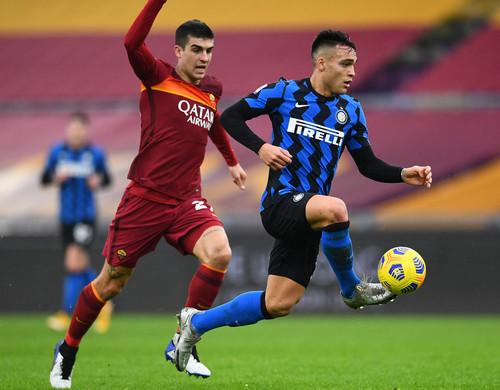 Рома на Стадио Олимпико вырвала ничью у Интера