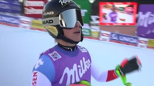 Горные лыжи. Гут-Бехрами выиграла супергигант в Санкт-Антоне