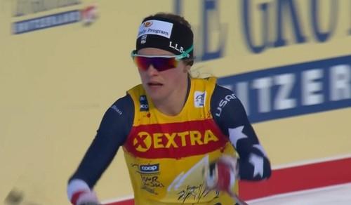 Джессика Диггинс – победитель Тур де Ски-2021