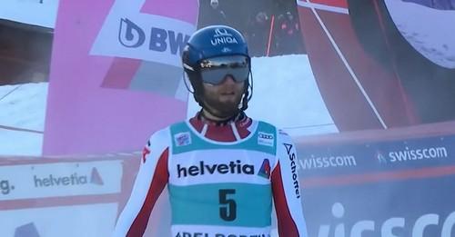 Горные лыжи. Шварц выиграл слалом в Адельбодене