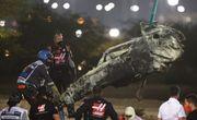 ВИДЕО. Топ-3 самых драматичных аварии сезона Формулы-1