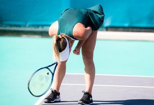 ВИДЕО. Ждет Свитолину. Как Костюк вышла в полуфинал турнира в Абу-Даби