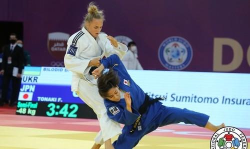 Дарья Билодид завоевала бронзу на турнире в Катаре
