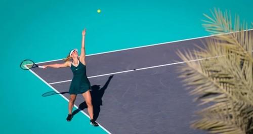 ФОТО. Эмоции Костюк после выхода в первый полуфинал WTA
