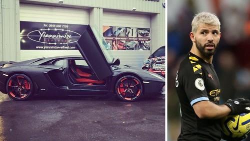 АГУЭРО: «Не знаю, зачем купил Lamborghini. Стоит и мокнет под дождем»