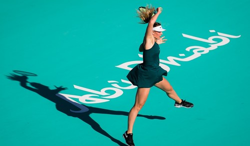 Костюк не сумела выйти в финал турнира в Абу-Даби, проиграв Кудерметовой
