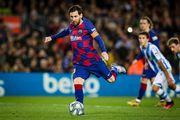 Месси забил пенальти. Барселона с большим трудом одолела Реал Сосьедад