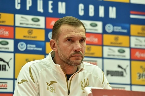 Шевченко назвав склад України на матчі з Францією і Польщею