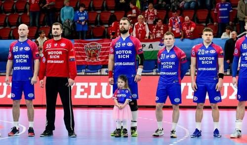 Мотор в Беларуси уступил в первом матче 1/4 финала СЕХА-Лиги