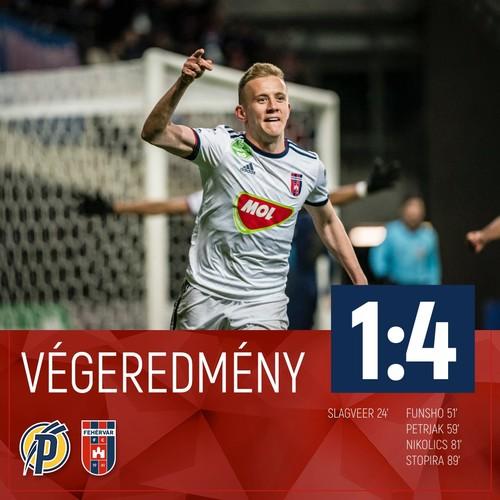 Петряк принес победу Фехервару в чемпионате Венгрии