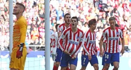 Атлетико - Севилья - 2:2. Видео голов и обзор матча