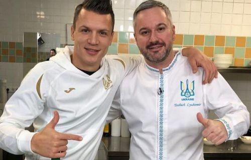 Шеф-повар сборной Украины: «Футболисты — тоже люди»
