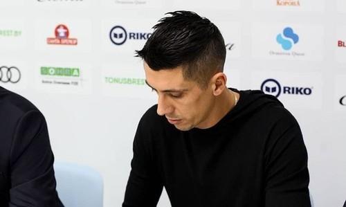 Хачериди дебютировал в составе Динамо-Брест