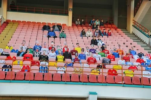 ВІДЕО. Матч Динамо-Брест з Шахтарем відвідали віртуальні фанати