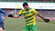 Кадимян забив другий гол за білоруський Німан