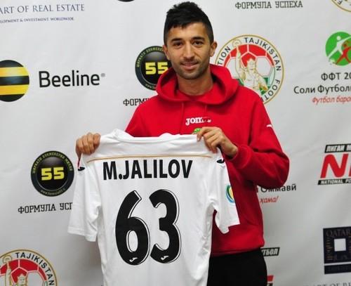 ВИДЕО. Джалилов забил в Таджикистане феноменальный гол