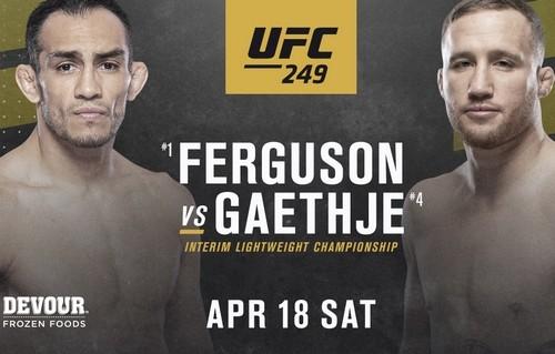 ОФІЦІЙНО: UFC 249 відкладений через пандемію коронавірусу