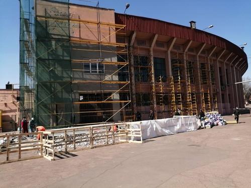 В Кривом Роге началась реконструкция стадиона Металлург