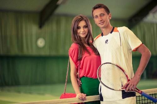 Стаховский с красавицей-женой принял вызов экс-первой ракетки мира