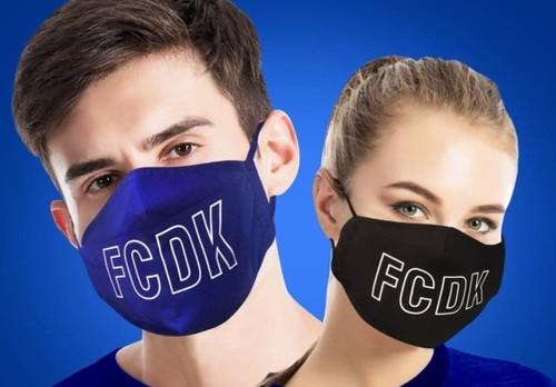 ФОТО. Динамо запустило в продажу фирменные медицинские маски