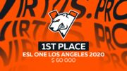 Virtus.pro – чемпион ESL One Los Angeles 2020