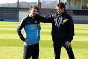 ФОТО. Мессі вшанував пам'ять колишнього тренера Барселони