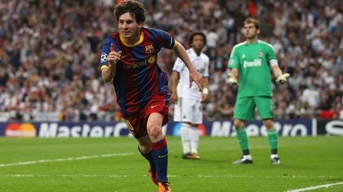 ВИДЕО. Как Месси оформил дубль в полуфинале Лиги чемпионов против Реала