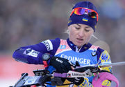 ВІДЕО. Семеренко вибила російську біатлоністку за межі траси