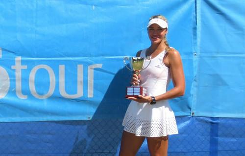 Українка Закарлюк виграла перший 25-тисячник у кар'єрі