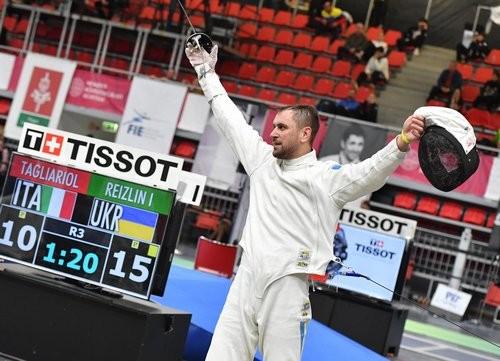 Украинец Рейзлин завоевал бронзу турнира серии Гран-при в Будапеште