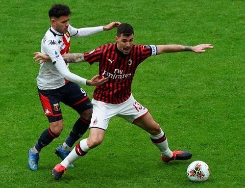 Милан — Дженоа — 1:2. Видео голов и обзор матча