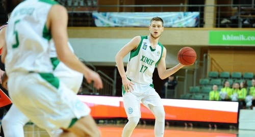 Український гравець заявився на драфт НБА