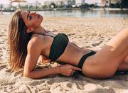 ФОТО. Марина Бех-Романчук поділилася яскравим пляжним знімком