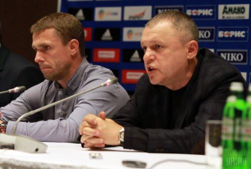 Джерело: Суркіс хоче повернути Реброва в київське Динамо