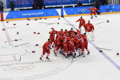 Утром 9 мая в России покажут победу над Германией в финале ОИ-2018