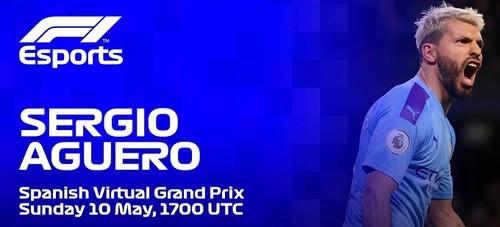 Агуеро візьме участь у віртуальній гонці Формули-1