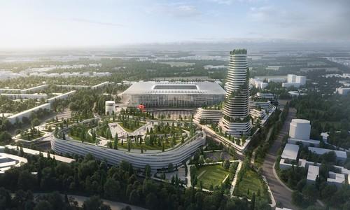 ФОТО. Интер и Милан показали, как будет выглядеть их новый стадион Сан-Сиро