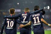Неймар, Мбаппе, Ди Мария вошли в символическую сборную чемпионата Франции