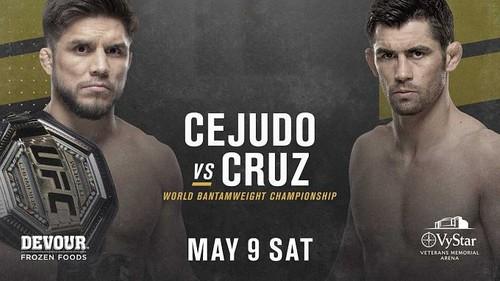 Генри Сехудо — Доминик Крус. Прогноз и анонс на бой UFC 249