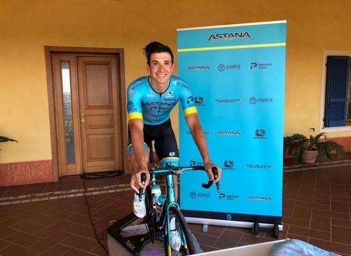 Астана выиграла виртуальную многодневку Джиро д'Италия-2020