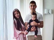 ФОТО. Маліновський приїхав на тренування Аталанти разом з дружиною і дочкою