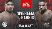 Де дивитися онлайн бій UFC: Алістар Оверім – Волт Харріс