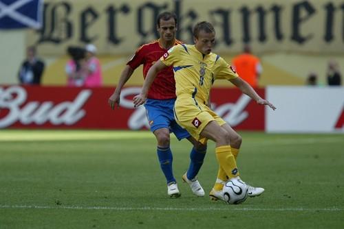 Олег ГУСЕВ: «С Испанией на поле была настоящая жара»