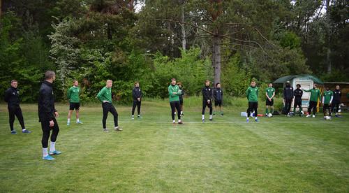 Ворскла відновила тренування і продовжила контракти з двома гравцями