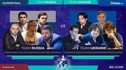 Украина сокрушила Россию в суперфинале Мировой лиги по онлайн-шахматам