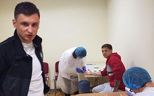 Игроки Зари повторно сдали тест на коронавирус